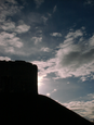 Silhouetted Tower